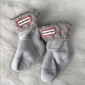 Toddler Hunter cable knit socks